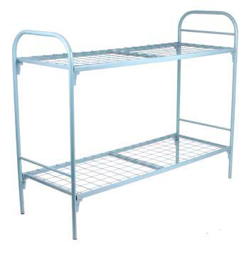Кровать металлическая двухъярусная